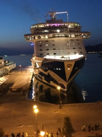 Majestic Princess, Trieste