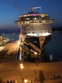 Majestic Princess, Trieste