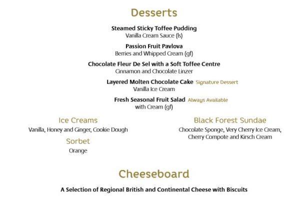 azura-1st night desserts