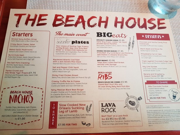 azura-beach house menu