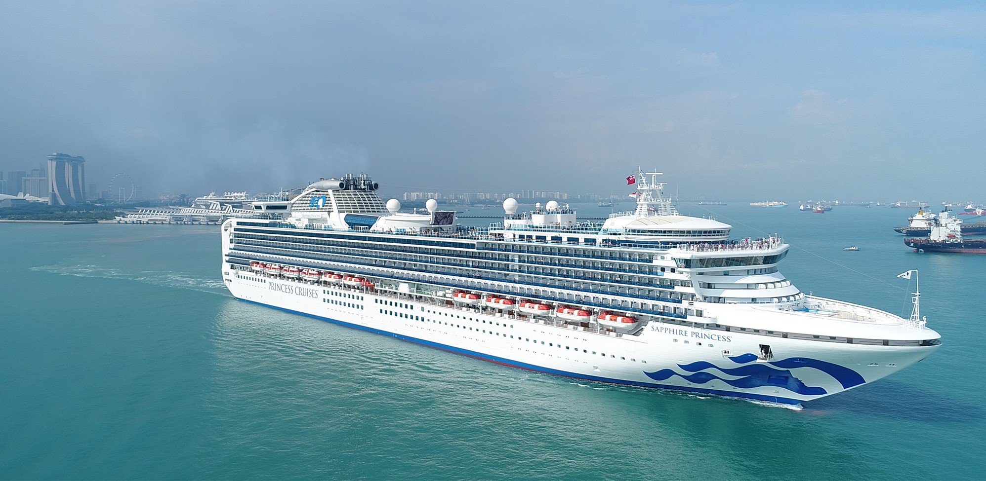 Sapphire Princess Enters Dry Dock - Cruise Critic Message Board Forums