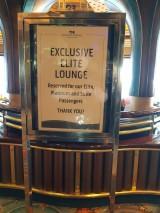 Elite Lounge Sign