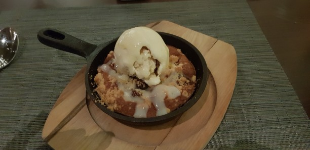 Apple Walnut Cobbler