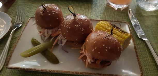 Pulled Pork Slider Trio