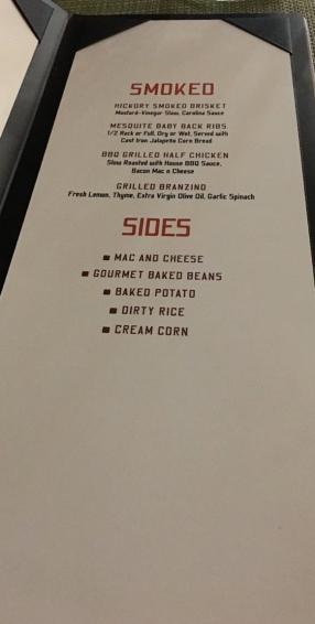Rooftop Garden Grill menu 2